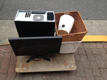 新宿区パソコン回収事例