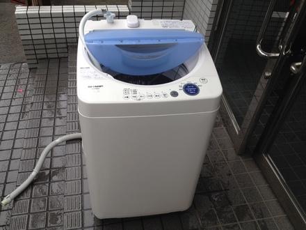 池袋洗濯機回収処分.JPG