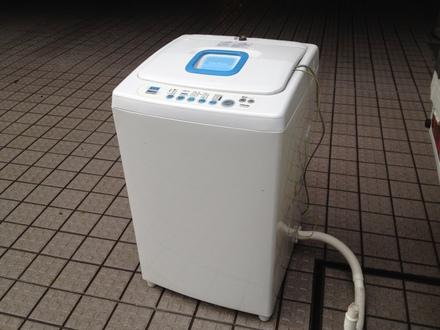 洗濯機廃棄処分